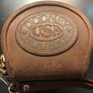 Vintage Dooney and Bourke change purse
